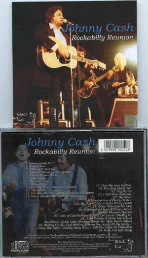 Johnny Cash - Rockabilly Reunion ( Soundboard From Rotterdam , Netherlands , April 19th , 1981 )