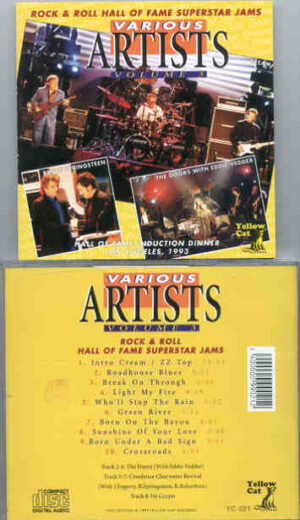 Various Artists - Rock 'N' Roll Hall Of Fame Superstars Jams  ( Yellow Cat )