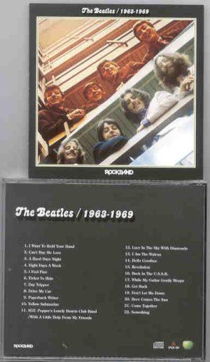 The Beatles - 1963 - 1969 Rockband  ( 2010 Rockband )