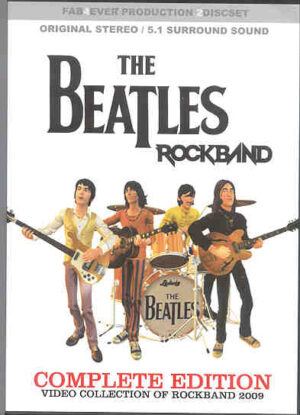 DVD The Beatles - Rockband Complete Edition ( 2 dvd set )