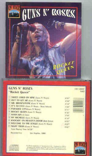 Guns N' Roses - Rocket Queen ( On Stage Recs ) ( Los Angeles 1988 )