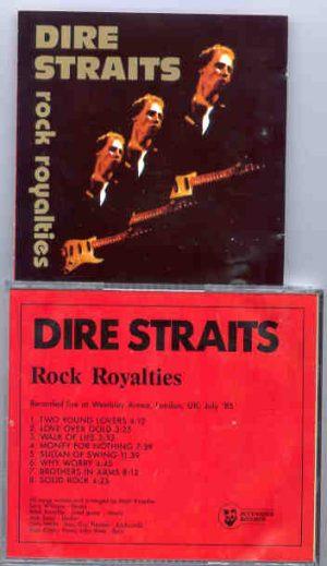 Dire Straits - Rock Royalties ( Wembley Arena , London , UK , July 1985 )