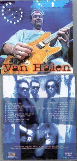 Van Halen - Rocks The Beer Hall ( KTS ) ( 2 CD!!!!! set ) ( Toronto , Canada , August 1995 )