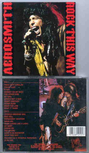 Aerosmith - Rock This Way ( Swingin' Pig ) ( Winterhur , Switzerland , August 31st , 1990 )( 2 CD!!!!! set )