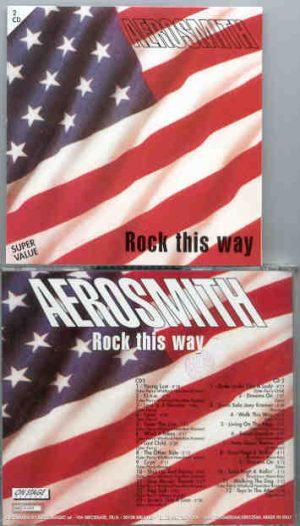 Aerosmith - Rock This Way  ( On Stage Recs. ) ( Live 1992 ) ( 2 CD!!!!! set )