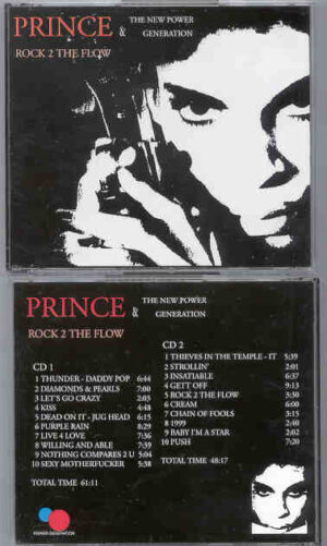 Prince - Rock To The Flow ( 2 CD!!!!! set ) ( With The New Power Generation )