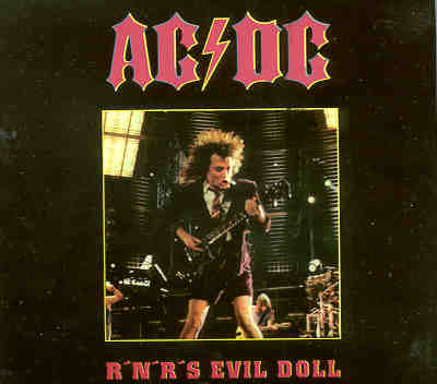 Ac-Dc - Rock 'N' Roll Evil Doll ( Live in USA 1979 )