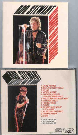 The Face / Rod Stewart - Blonde On Blonde ( Rod Stewart LIVE 1981 )