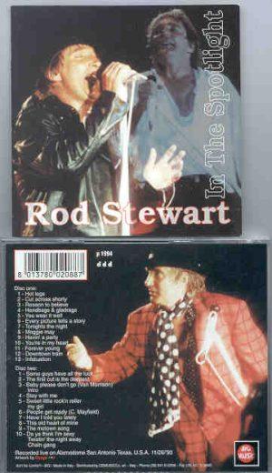 The Face / Rod Stewart - In The Spotlight ( 2 CD!!!!! SET ) ( Big Music ) ( Alamodome , San Antonio , Texas , USA , November 26th , 1993 )