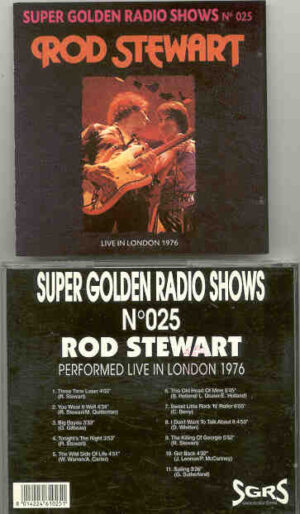 The Face / Rod Stewart - Live In London 1976 ( Rod Stewart )