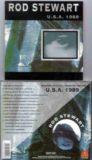 The Face / Rod Stewart - USA 1989 ( Rod Stewart Live During The 1989 US Tour ) ( Golden Stars )