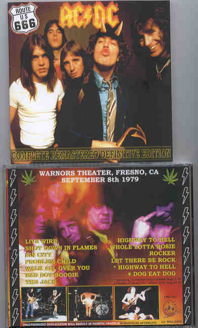 Ac-Dc - Route US 666 ( Warnors Theater , Fresno , California , USA , September 8th , 1979 )