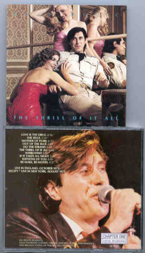 Brian Ferry & Roxy Music - The Thrill Of It All ( Chapter One Recs. )