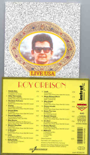Roy Orbison - Live In The USA