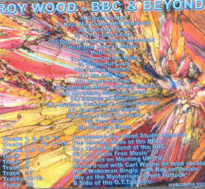 Roy Wood - BBC and Beyond
