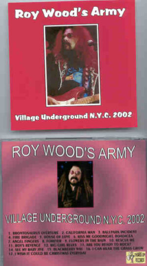 Roy Wood - Village Underground New York 2002