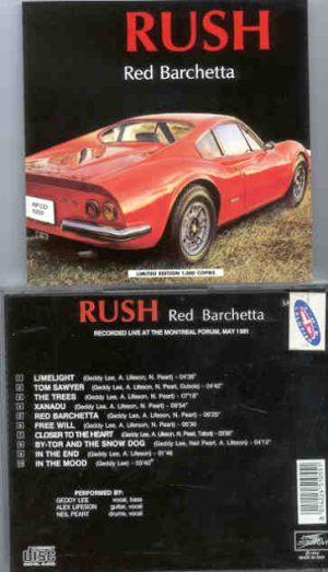 Rush - Red Barchetta ( Montreal 1981 )