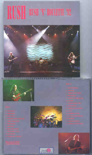 Rush - Rush 'N' Roulette 1992 ( Silver Rarities ) ( 2 CD!!!!! set )