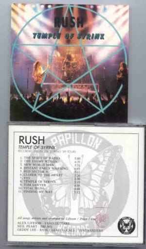 Rush - Temple of Syrinx