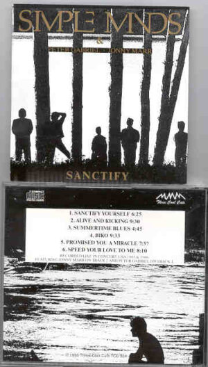 Simple Minds - Sanctify ( Live In Concert USA 1985 and 1986 )