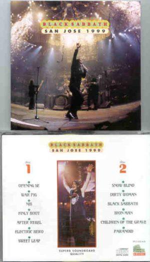 Black Sabbath - San Jose 1999 ( 2 CD!!!!! SET )