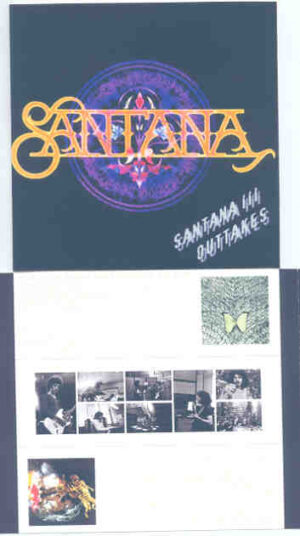 Santana - Santana III Outtakes ( 2 CD!!!!! SET ) ( Wally Heider Studios SF , CA , Nov 1970 + Columbia Studios , Jan 1971 )