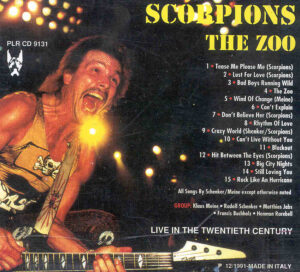 Scorpions - The Zoo ( Pluto-Great Dane ) ( Live In the Twentieth Century )