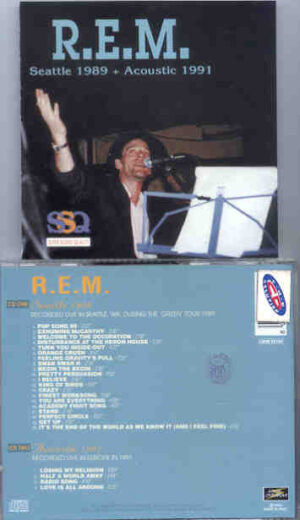 R.E.M. - Seattle 1989 - Acoustic 1991 ( Live Storm ) ( 2 CD!!!!! SET )