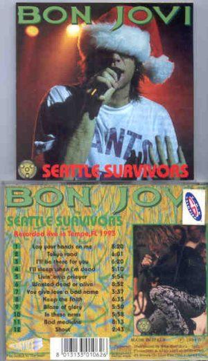 Bon Jovi - Seattle Survivors ( Live In Tampa , Florida , USA , 1993 )