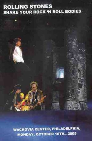 DVD The Rolling Stones - Shake Your Rock 'N' Roll Bodies