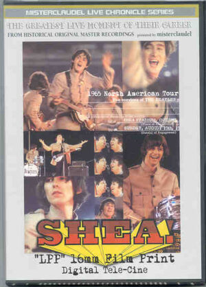 DVD The Beatles - Shea ! 16 mm Film Print Digital Tele Cine ( Misterclaudel )
