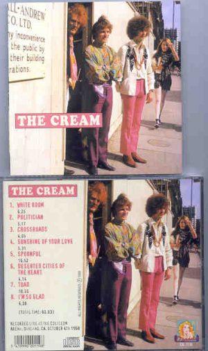 Cream - Silver Horses Running Moonbeams ( Cream Live at The Coliseum Arena , Oakland , October 4th , 1968 )