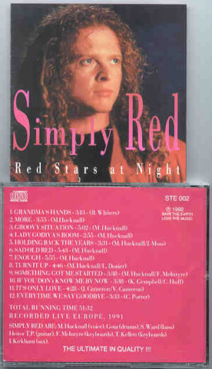 Simply Red - Red Stars At Night ( Live In Europe 1991 )