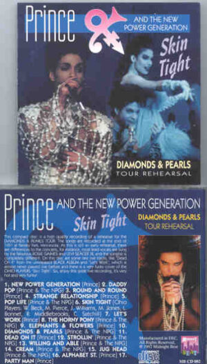 Prince - Skin Tight ( Diamonds And Pearls Tour Rehearsals ) ( Midnight Beat )