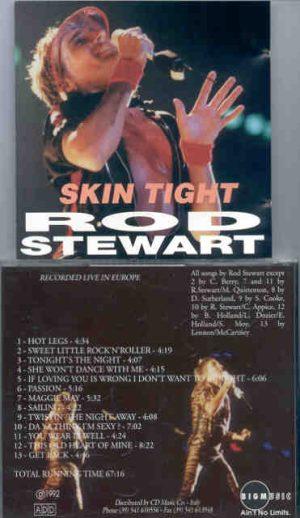 The Face / Rod Stewart - Skin Tight ( Rod Stewart Live In Europe ) ( Big Music )