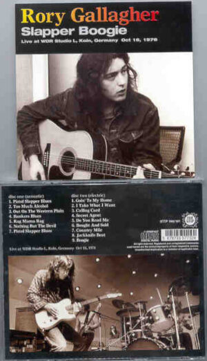 Rory Gallagher - Slapper Boogie ( 2 CD!!!!! set ) ( WDR Studio L , Koln , Germany , October 16th , 1976 ) ( STTP )
