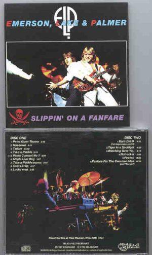 Emerson , Lake & Palmer - Slippin' In A Fanfare  ( Highland )