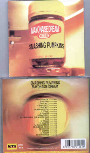 Smashing Pumpkins - Mayonnaise Dream ( Live in the USA and Holland 1993 ) ( KTS )