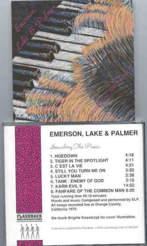 Emerson , Lake & Palmer - Smashing The Piano ( Flashback )