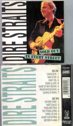 Dire Straits - Sold Out In Every Street ( 2 CD!!!!! SET ) ( Great Dane Recs. )