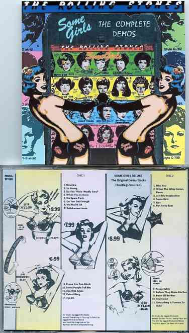 Rolling Stones - Some Girls Deluxe - The Complete Demos ( 2 CD ) ( Some  Girls Album Demos )
