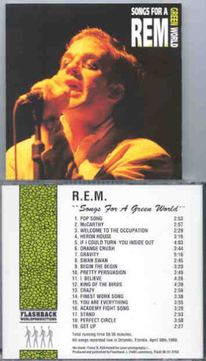 R.E.M. - Songs For A Green World ( Flashback ) ( Orlando , Fl , USA , April , 1989 )