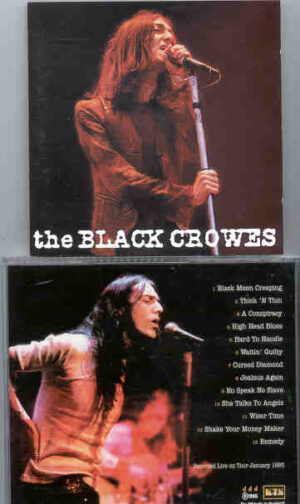 Black Crows - Songs Of The Flesh ( KTS ) ( Live On Tour , January 1991 )