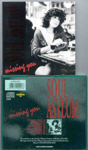 Soul Asylum - Missing You ( Living Legend ) ( Live in Ventura , CA , USA , 1993 )
