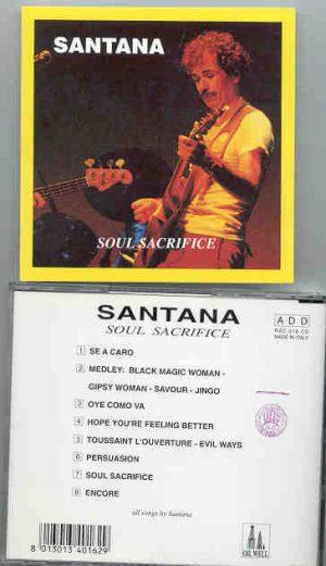 Santana - Soul Sacrifice    ( Oil Well )