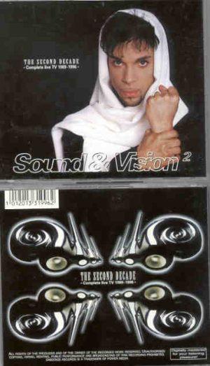Prince - Sound & Vision Vol. 2 ( 2 CD!!!!! SET ) ( TV Appearances 1989 - 1996 )
