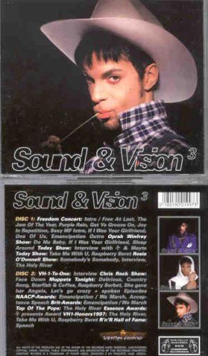 Prince - Sound & Vision Vol. 3 ( 2 CD!!!!! SET ) ( Complete Live TV 1996 - 1997 )