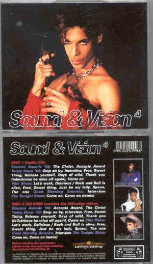 Prince - Sound & Vision Vol. 4 ( 2 CD!!!!! SET ) ( Complete Live TV 1998 )