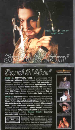 Prince - Sound & Vision Vol. 5 ( 2 CD!!!!! SET ) ( TV Appearances 1998 - 2000 )