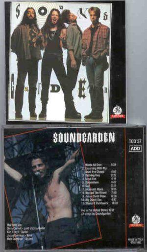 Soundgarden - Soundgarden  ( Templar )